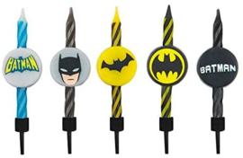 Batman taart kaarsjes set 10-delig