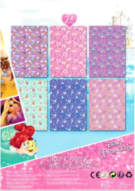 Disney Princess knutselpapier A4 21 x 29,7 cm.