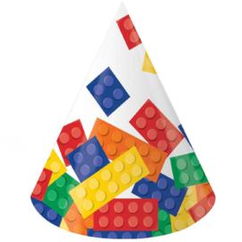 Lego Block party feesthoedjes 8 st.