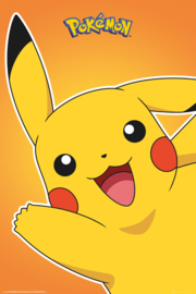 Pokémon Pikachu poster 61 x 91,5 cm.