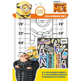 Despicable Me 3 kleur- en stickerset