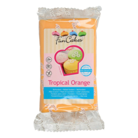 Rol fondant tropical orange 250 gr.