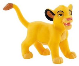 Disney The Lion King Simba jong taart topper decoratie 4,6 cm.