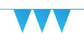 Vlaggenlijn midden blauw 10 mtr.