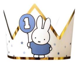 Nijntje kroontje mijn eerste verjaardag boy