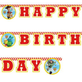 Disney Toy Story 4 slinger happy birthday 2 mtr.