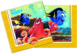 Disney Finding Dory servetten 33 x 33 cm. 20 st.