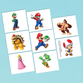 Super Mario Bros tattoos