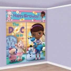 Disney Doc McStuffins muurdecoratie 5-delig (scenesetter)