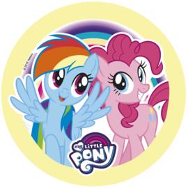 My Little Pony taart frosting ø 21 cm. c