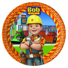 Bob de Bouwer bordjes ø 23 cm. 8 st.