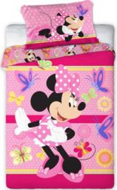 Disney Minnie Mouse ledikant dekbedovertrek 100 x 135 cm.