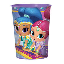 Shimmer and Shine plastic drinkbeker 473 ml.