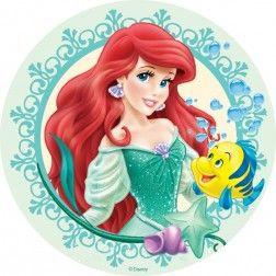 Disney Ariel taart en cupcake decoratie
