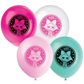 LOL Surprise ballonnen ø 30 cm. 8 st.