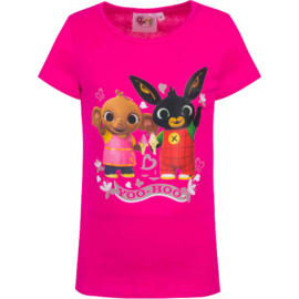 Bing en Sula t-shirt fuchsia Yoo-Hoo mt. 116