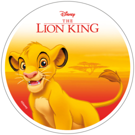Disney The Lion King ouwel taart decoratie ø 21 cm. B
