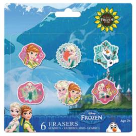 Disney Frozen uitdeel gummen 6 st.