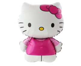 Hello Kitty folieballon XL 67 x 49 cm.