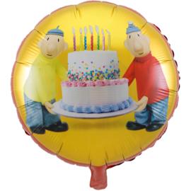 Buurman en Buurman folieballon ø 45 cm.
