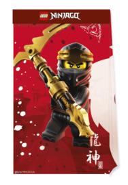 Lego Ninjago traktatiezakjes 4 st.