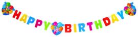 Disney Winnie de Poeh slinger happy birthday 1,8 mtr.