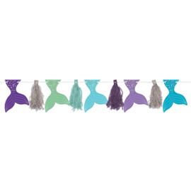Zeemeermin tassel slinger Mermaid Wishes 3 mtr.