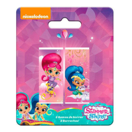 Shimmer and Shine uitdeel gum 2 st.