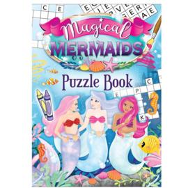 Zeemeermin mini puzzel boekje Magical Mermaids (Engelstalig)