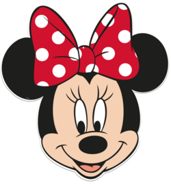 Disney Minnie Mouse face hangdecoratie 83 cm.
