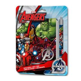 Avengers notitieboekje met pen