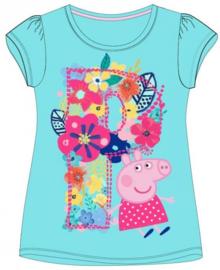 Peppa Pig t-shirt turquoise mt. 128