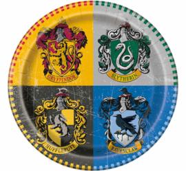 Harry Potter bordjes ø 23 cm. 8 st.