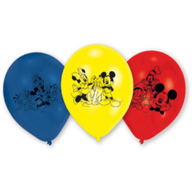 Disney Mickey Mouse and friends ballonnen ø 22,8 cm. 6 st.