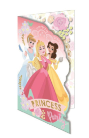 Disney Princess wenskaart A Princess Party (blanco)
