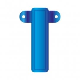 Banner letter I blauw