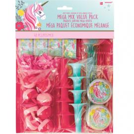 Magical Unicorn uitdeelspeelgoed set 48-delig