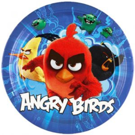 Angry Birds bordjes ø 22,9 cm. 8 st.