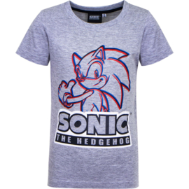 Sonic The Hedgehog t-shirt grijs mt. 92