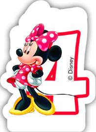 Disney Minnie Mouse 4e verjaardagskaars