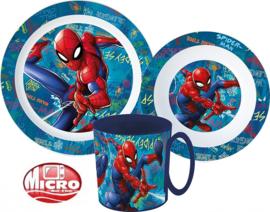 Spiderman diner set 3-delig B