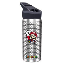 Super Mario Bros drinkfles aluminium 710 ml.