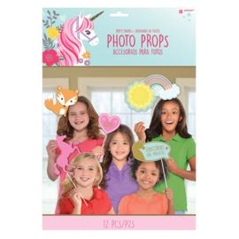 Magical Unicorn photo props 12 st.