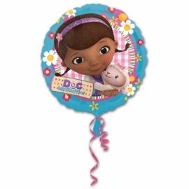 Disney Doc McStuffins folieballon ø 43 cm.