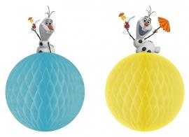 Disney Frozen Olaf honeycomb decoratie 2 st.