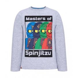 Lego Ninjago longsleeve Master of Spinjitzu mt. 140