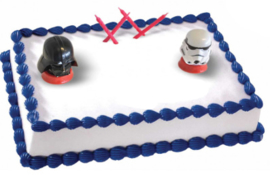Star Wars taart decoratie set 4-delig
