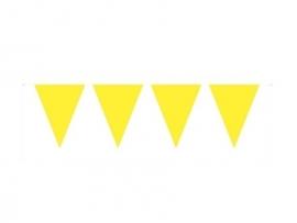 Vlaggenlijn geel 10 mtr.