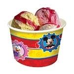Disney Mickey Mouse ijs- snoep bekertje 8 st.