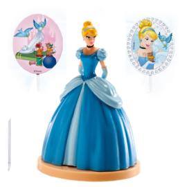 Disney Assepoester taart decoratie set